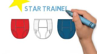 UnderCareWear Star Trainers