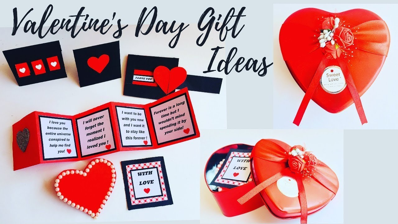 Diy Valentine S Day Gift Ideas Best Valentine Gift For Him Her Ep 279 Youtube