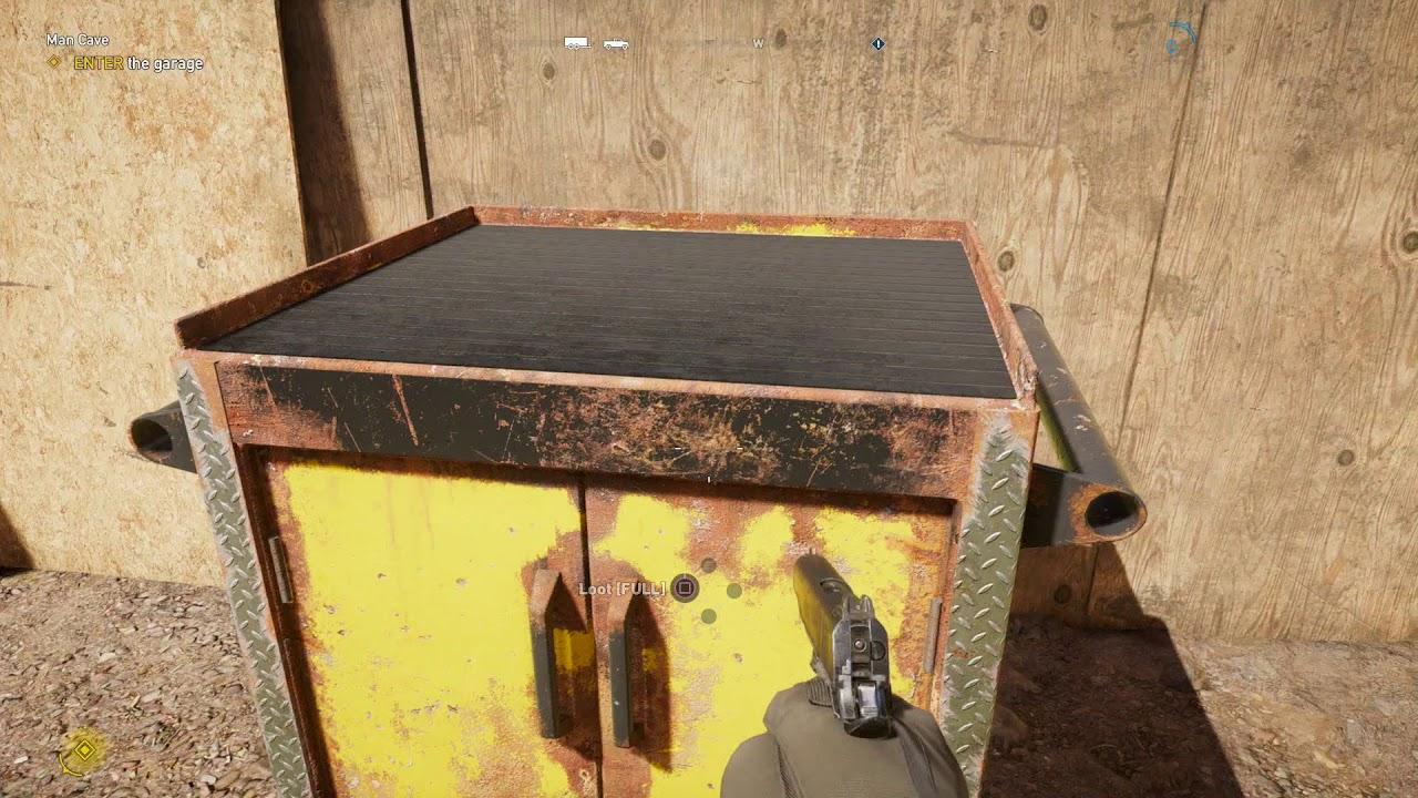Man Cave Far Cry 5 Walkthrough : Far cry man cave prepper stash walkthrough youtube