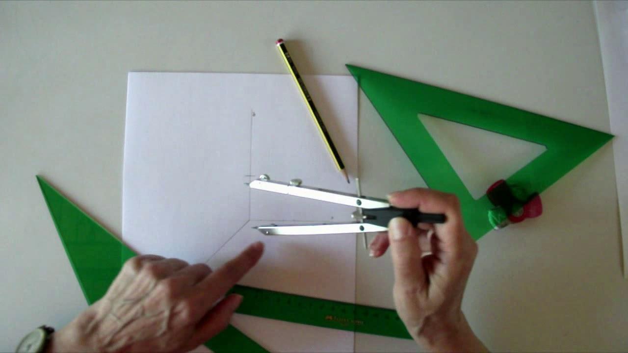 Dibujo De Un Cubo En Perspectiva Caballera Con Escuadra Y Cartabon Iniciacion Al Dibujo Tecnico 8 Youtube