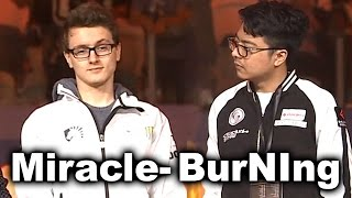 Miracle- vs BurNIng - 1v1 SOLO MID - DAC 2017 DOTA 2