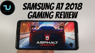 Samsung A7 2018 Gaming Review ! PUBG/Asphalt 9/NBA 2K19/Call of Duty Mobile