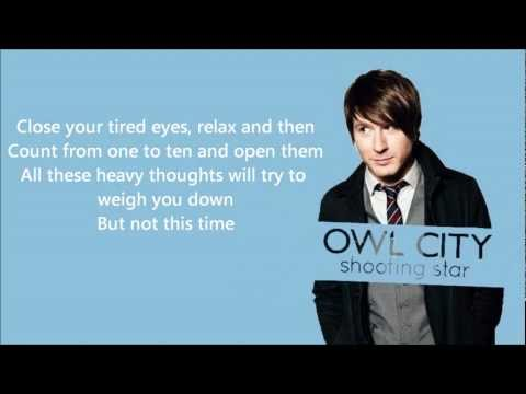 Owl City - Shooting Star (Lyrics)