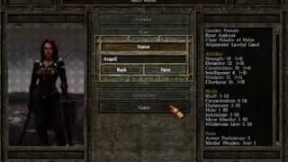 Icewind Dale II Playthrough Part 1: Intro & Character Creation