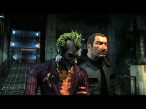 Batman: Arkham Asylum Joker Trailer