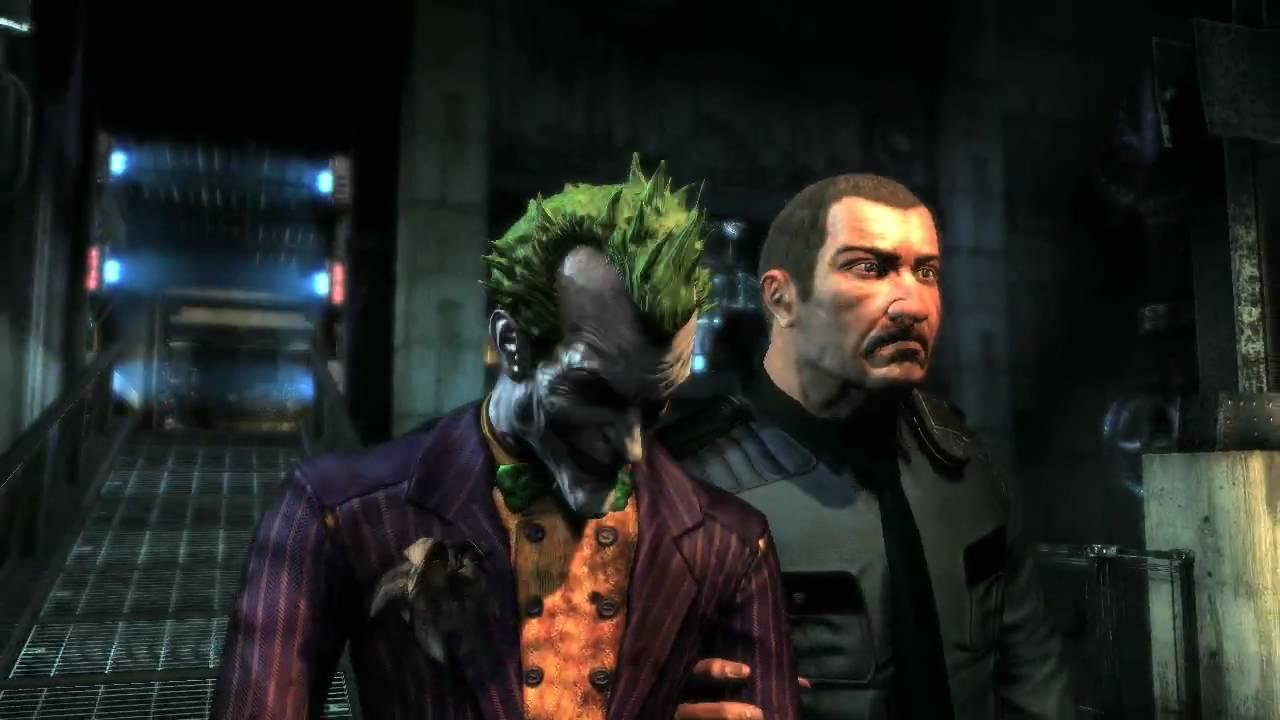 Batman: Arkham Asylum Joker Trailer - YouTube
