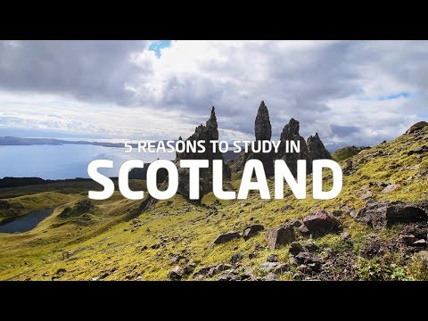 5 Reasons Why You Should Study In Scotland!