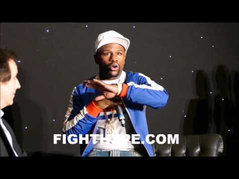 FLOYD MAYWEATHER BREAKS DOWN MISTAKE HE MADE WHEN SHANE MOSLEY ROCKED HIM AND ADJUSTMENT HE MADE