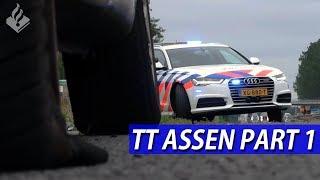 POLITIE  TT ASSEN  AUDI  Niels en JanWillem  Deel 1