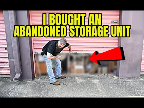 We Bought An Abandoned Storage Unit And Found Thousands!