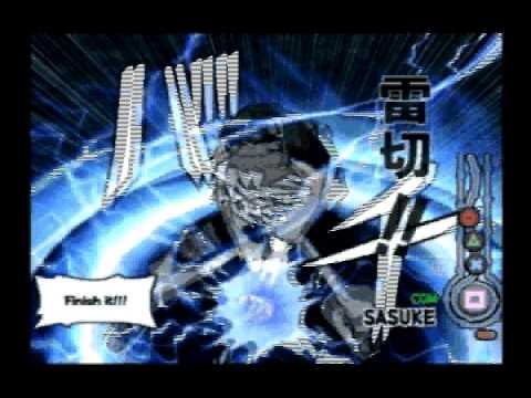 Naruto: Ultimate Ninja (PS2)- All Character Jutsu