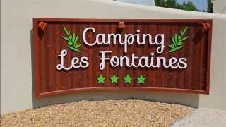 Camping les Fontaines **** à Pernes les Fontaines