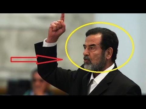 صدام حسين مقطع الفديو الذى هز العالم الاسلامى