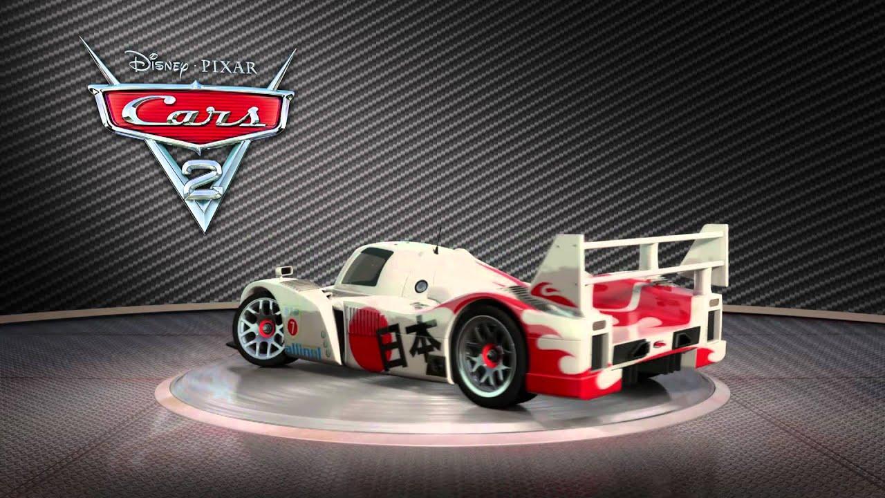 Cars 2 Turntable Quot Shu Todoroki Quot Youtube