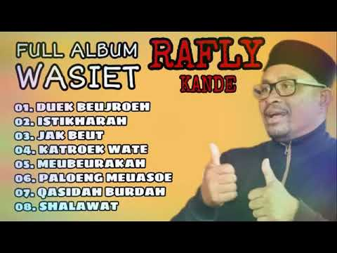 Full Album WASIET - RAFLY KANDE (LAGU TOP POPULER ACEH)