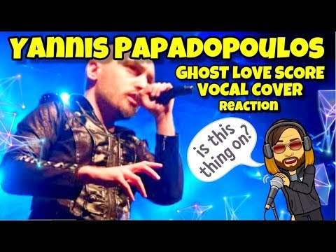 GHOST LOVE SCORE Cover - Reaction -  Yannis Papadopoulos