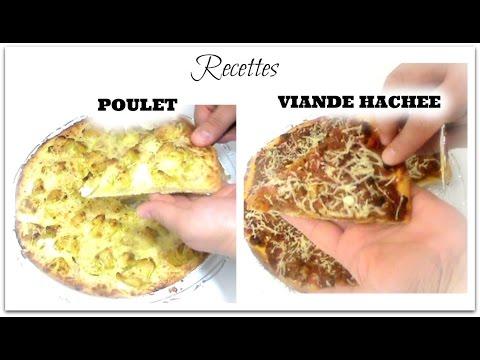 recette-pizza-maison-au-poulet-et-viande-hachée-~jycookmakeup~