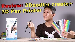Review: 3Doodler create+ New & Improved 3D Pen Printer