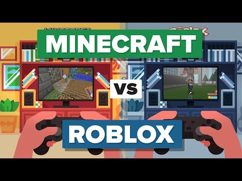 Thumbnail: Minecraft vs Roblox - How Do They Compare? - Video Game Comparison
