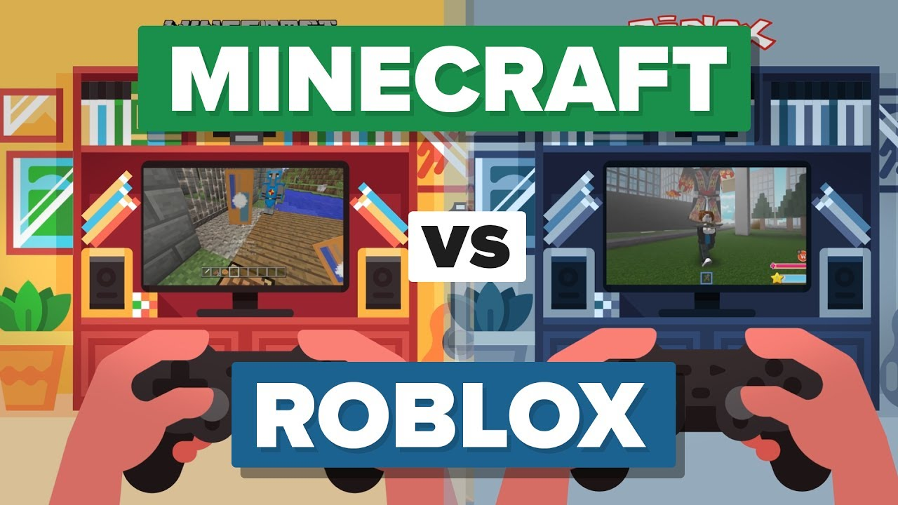 Minecraft Games And Gamers : Roblox vs minecraft games online gamesworld
