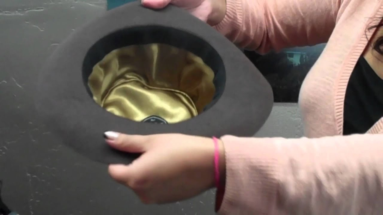 How to Steam and Reshape a Hat - Village Hat Shop - YouTube 33221b751e2f