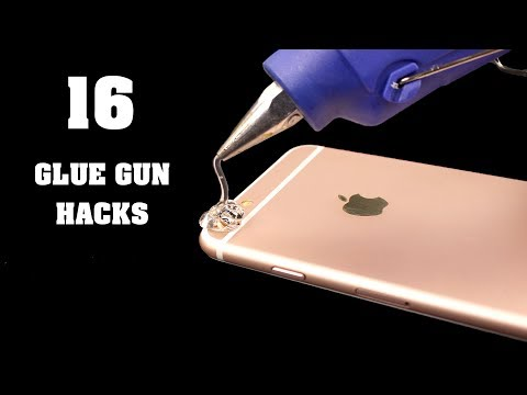 Thumbnail: 16 Awesome Hot Glue Gun Life Hacks
