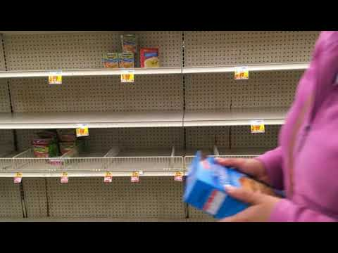 Grocery Store Shelves Bare? These Products May Become Harder and Harder to Find