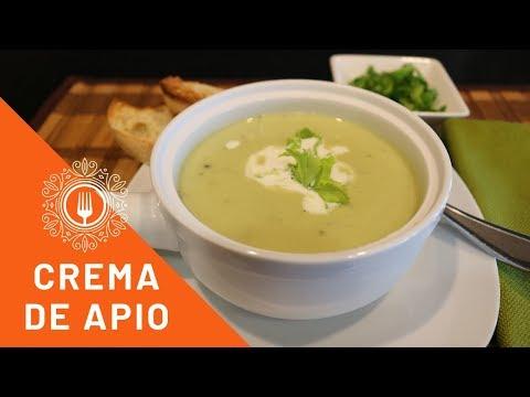 Crema de Apio / La Sopa Mas Facil de Preparar