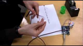 Make a Touch Sensor with a Pencil Drawing