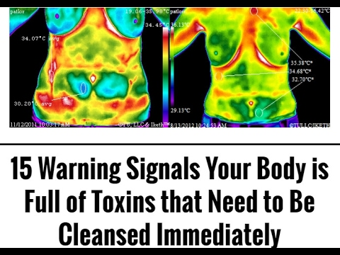 15 Warning Signals Your Body is Full of Toxins that Need to Be Cleansed Immediately