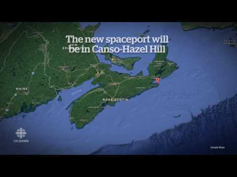 Rocket launch site coming to Canso, Nova Scotia