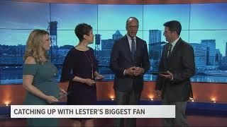 NBC's Lester Holt joins the KGW Sunrise crew