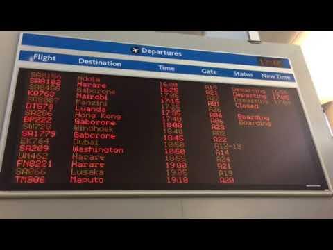 OR Tambo Airport Johannesburg 15/11/17