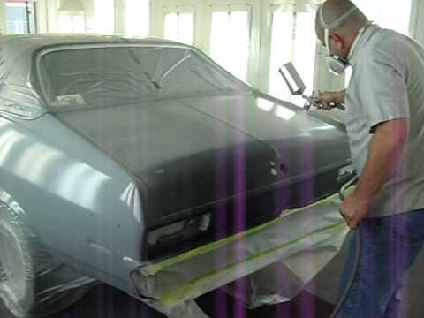 Gwatney Chevrolet Jacksonville Arkansas >> CHEVY NOVA PAINT JOB OCT -01-09 - YouTube