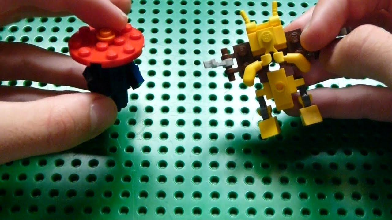Lego Pokemon Instructions Part 5 Vileplume And Alakazam Youtube