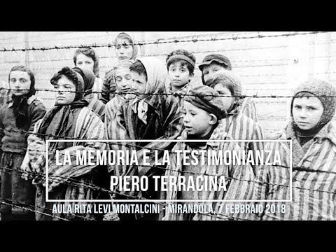 La Memoria e la Testimonianza - Piero Terracina (byAM&GP)