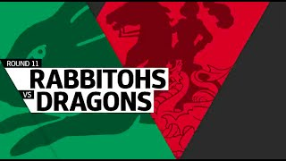NRL 2016 Round 11 Rabbitohs vs Dragons Highlights