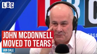 Clap for NHS: Shadow Chancellor John McDonnell and Iain Dale moved to tears by public support | LBC