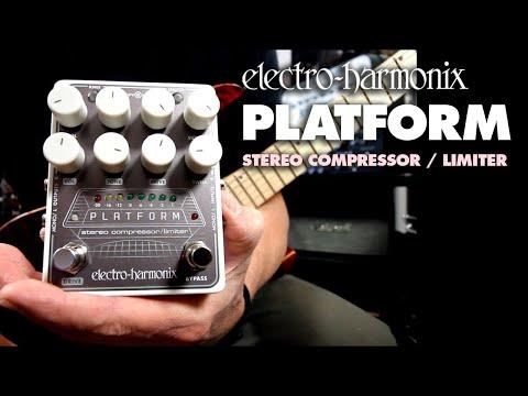Electro-Harmonix Platform Stereo Compressor