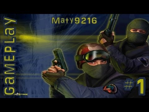 Counter Strike 1.6, Gameplay [Parte 1] HD