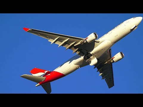 Strong Wind day - Sydney Airport - part 2