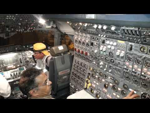 Boening 747 Flight Engineer panle