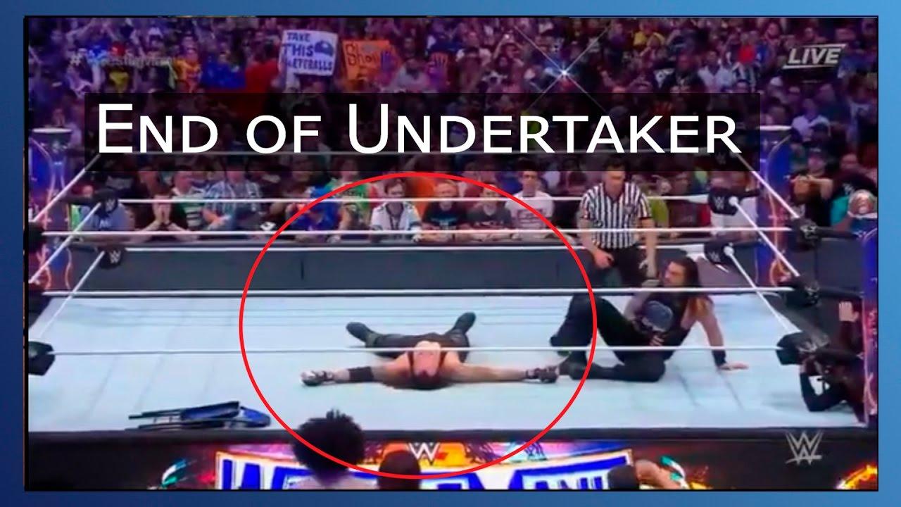 Undertaker retirement Video | Final moments | Topnewsage