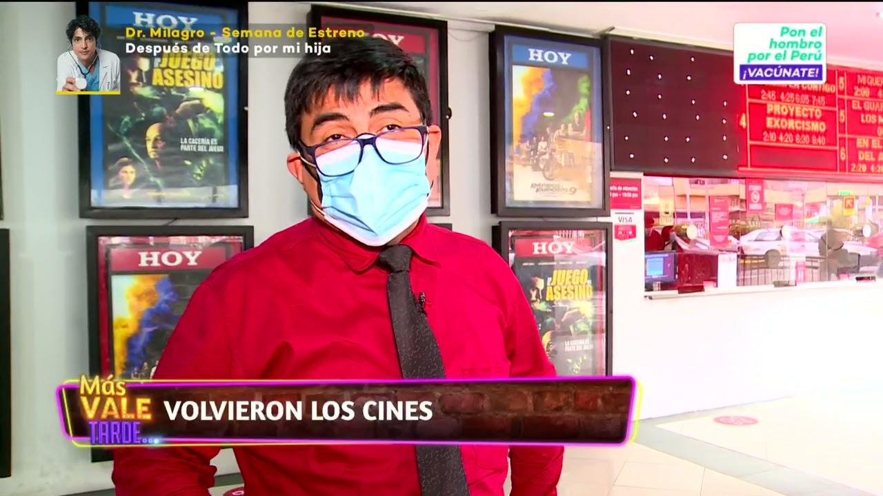 Download ¡Volvieron los cines! 🎬🍿 ''Cinestar'' abrió algunas de sus salas a nivel nacional.  #MásValeTarde