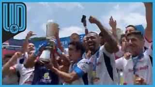 Los Freseros levantaron el trofeo de la temporada con lo que tendrían la posibilidad de participar en la siguiente temporada de la Liga de Expansión