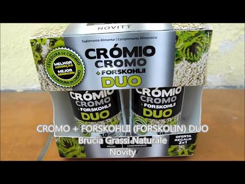 CROMO   FORSKOHLII (FORSKOLIN) DUO – Brucia Grassi Naturale