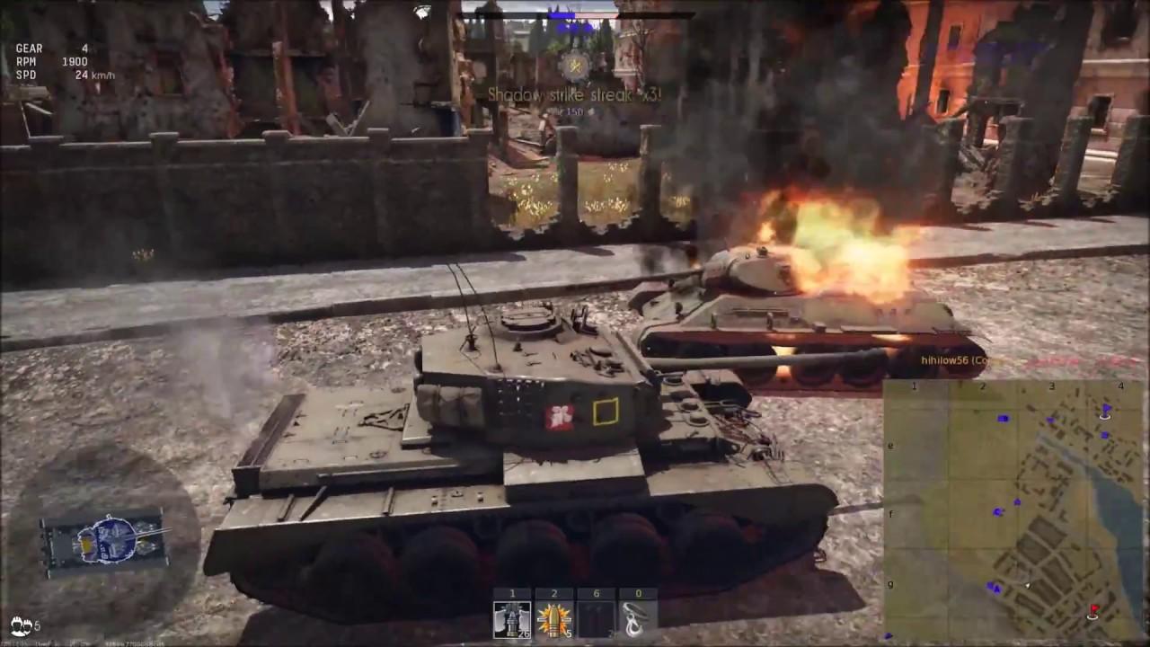Comet I; War Thunder RB Gameplay - YouTube