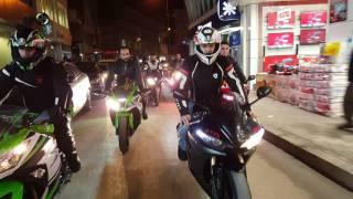 Bafra motorsiklet kulübü üyesi SİNAN AVCI asker konvoyu