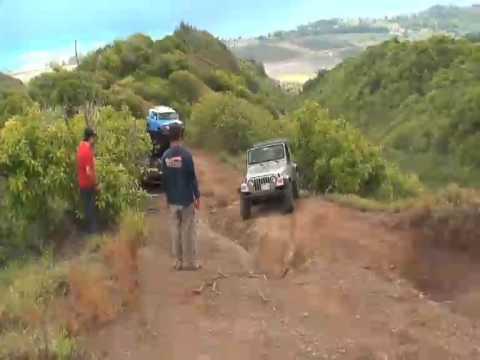 Fj S And Jeep S At Peacock Flats Hawaii Youtube