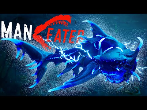 Defeating The Military & Giant Whale - Bio-Electric Bull Shark Complete! - Maneater |